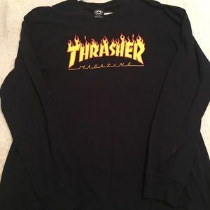 Thrasher Men's Graphic Long Sleeve